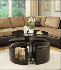 Shop furniture, lighting, storage & more! Round Coffee Table With Seats Underneath