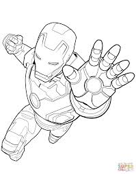 Small Picture Avengers Iron Man coloring page Free Printable Coloring Pages