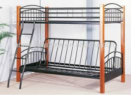 metal bunk bed twin over full. Twin Over Full Futon Bunk Bed, Metal Bed,Black Bed