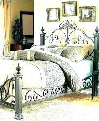 king metal bed – jeanvillevieille.com