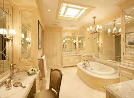 luxury master bathroom. magnificent luxury master bathroom designs with white wood cabinet and beautiful lamps decor