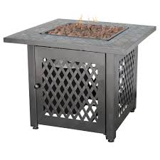 better homes and gardens fire pit. Steel LP Fire Pit With Slate Mantel Better Homes And Gardens