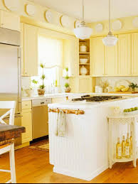 Yellow Paint For Kitchen Walls Bright Kitchen Design With Yellow Color And White Kitchen Wall