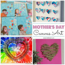 Use a mini canvas easel or make greeting cards. Easy Mother S Day Crafts For Kids To Make Red Ted Art