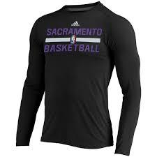 adidas long sleeve. men\u0027s sacramento kings adidas black on court ultimate long sleeve climalite t-shirt