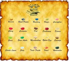 Harry Potter Jelly Bean Flavors Chart Make Your Own Honeydukes Sweets Hoggywartz The Ultimate