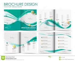 Free Brochure Layouts Vector Brochure Layout Design Template Stock Vector
