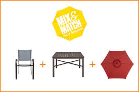 build your patio set on a budget