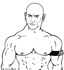 Wwe coloring pages color online free printable. Printable Wrestling Coloring Pages For Kids