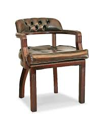 court handmade traditional english leather armchair cushion seat