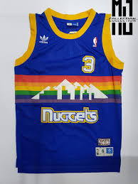 Allen Iverson Nuggets Hardwood Classics Basketball Jersey