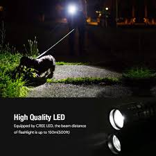 Lighting Ever 1200012 Le Smal Led Flashlight Super Bright Led Tactical Torch