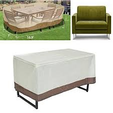 cover patio furniture. Simple Cover Universal Patio Garden Rectangular Oval Table Chair Cover Outdoor Furniture  Winter 130 And