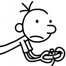 Small Picture Diary Of A Wimpy Kid Coloring Page Coloring Home