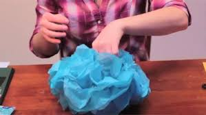 How To Make Tissue Paper Balls Decorations Video How to Make Tissue Paper Ball Decorations grad party 63
