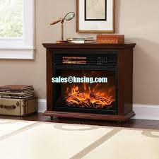 china insert and freestanding electric fireplace heater log led flame effect ef 30c remote control
