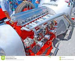 Race Car Engine Design Vintage Race Car Engine Editorial Stock Image Image Of Indy