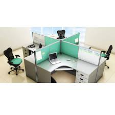 modular office furniture wooden modular office furniture rs 3000 square feet m s interior