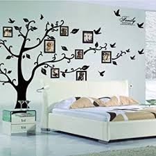 Small Picture X Large DIY Family Tree Wall Art Stickers Removable Vinyl Black