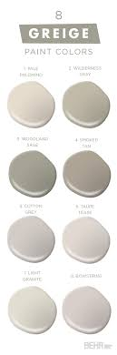 You can never have too much of a good thing with this collection of classic  neutral paint colors from BEHR. Embrace Greige, a mixture of gray and  beige, ...