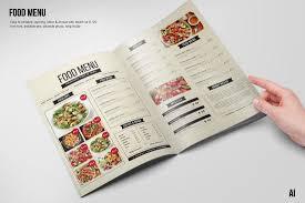 Menu Templates Design 50 Best Food Drink Menu Templates Design Shack