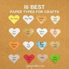 Chart Paper Flower Making 16 Best Paper Types For Amazing Crafts Jennifer Maker