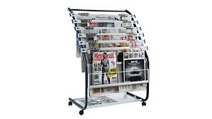 newspaper rack for office. Jin Wenjin K - 204 B Newspaper Magazine Rack Office Stand Six Layer Ground | DealShaker For C
