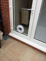 cat flaps in double glazed doors boards gallery window repair solutions