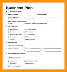 Simple Business Plan Outline Useful Template Word 7 Letter