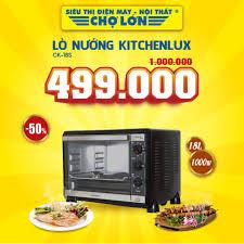 Lò Nướng KITCHENLUX CK-18S giảm 50% giá:... - Siêu Thị Điện Máy - Nội Thất Chợ  Lớn