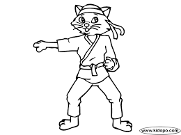 Small Picture karate coloring pages for kids Birthday Planning Pinterest