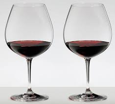 riedel vinum pinot noir burdy red 2 piece red wine glass set 6416 07 new 1 of 3only 0 available