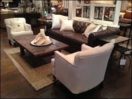 leather couch coffee table and chairs layout