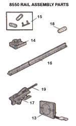 liftmaster garage door opener parts. LIFTMASTER Garage Door Opener 8550 DC Battery Backup Belt Drive MyQ™ Liftmaster Parts P