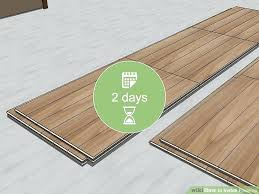 how to install flooring image titled install flooring step install vinyl plank flooring around toilet