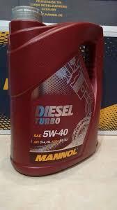 Mannol Original - <b>MANNOL Diesel Turbo 5W-40</b> API CI-4/SL 5L ...