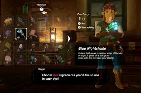 How To Dye Your Clothes And Armor In Breath Of The Wild