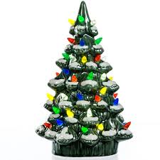 Ceramic Christmas Light Up Tree