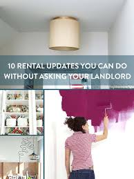 you can do it 10 al updates your landlord doesnt need to know about plug in