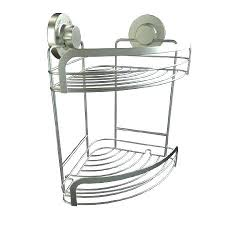 suction shower caddy compact modern furniture shelf