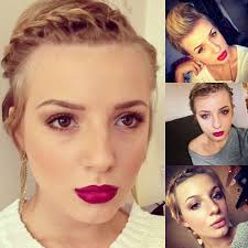 3 Hairstyles For Really Short Hair Youtube