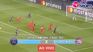 PSG X BAYERN DE MUNIQUE | AO VIVO (COM IMAGEM !!!) CHAMPIONS LEAGUE 2021 -  13/04/2021 - YouTube