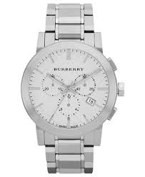 burberry watch men s swiss chronograph stainless steel bracelet burberry watch men s swiss chronograph stainless steel bracelet 42mm bu9350