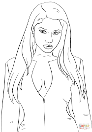 Small Picture Nicki Minaj coloring page Free Printable Coloring Pages