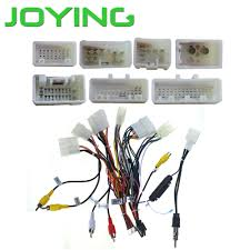 online buy wholesale toyota wiring harness from china toyota Wiring Harness Adapter For Car Stereo That Keep Factory Wires joying wiring harness cable for toyota only for joying android device(china)