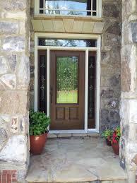 transform your cur door with a door glass insert