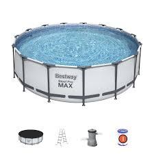 <b>Bestway Каркасный бассейн Steel</b> Pro Max 457х122см, 16015л ...