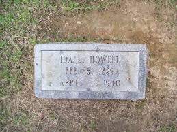 Ida J. Howell (1899-1900) - Find A Grave Memorial