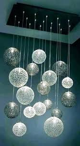 cascading glass bubble chandelier home improvement bub fantastic blown