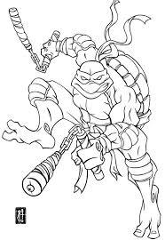 Teenage Mutant Ninja Turtles Coloring Pages Best Coloring Pages Free
